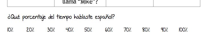 percentaje