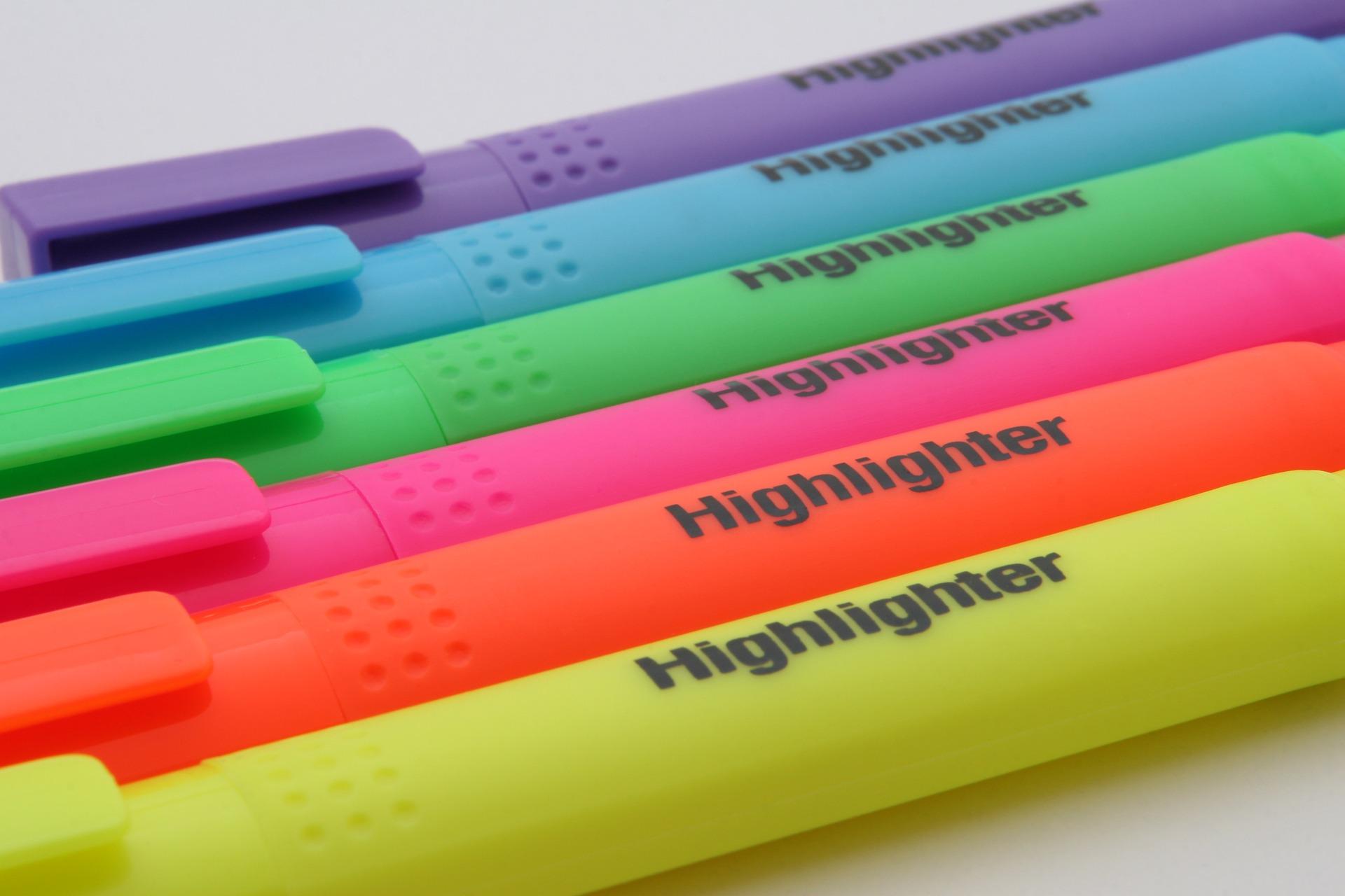 Digital Highlighting Activity