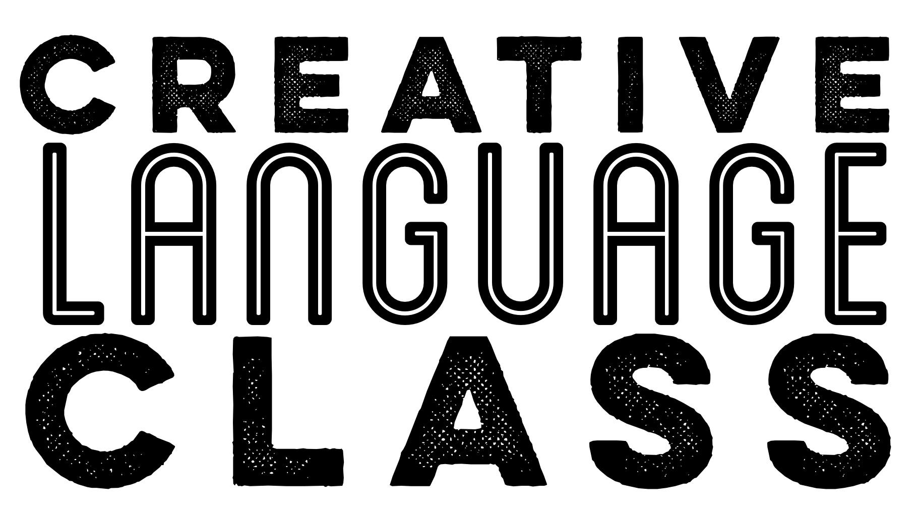 Creative Language Class